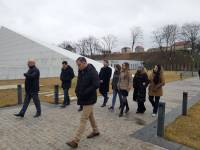 Praqa Biznes Məktəbinin professoru Vadim Strilkovski  Quba Soyqırımı Memorial Kompleksini ziyarət edib