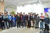 """""""ISE Startup Club""""un sədri Turan Süleymanov,"""